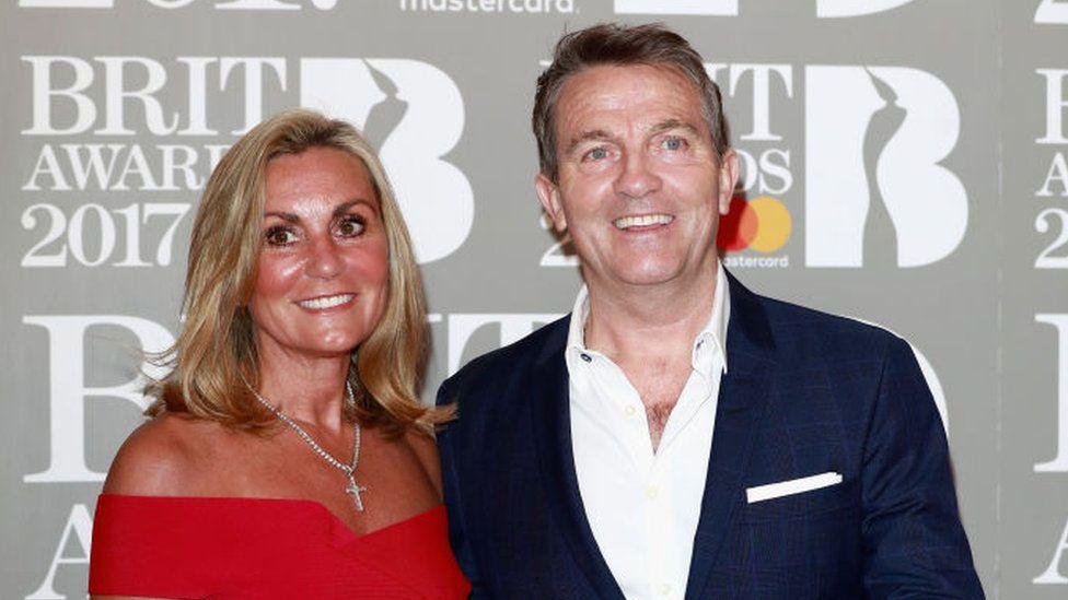 Bradley Walsh and Donna Derby