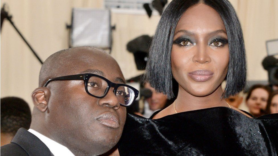 Enninful with Naomi Campbell