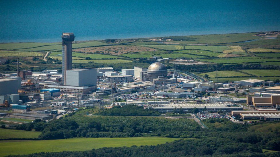Aerial view of Sellafield
