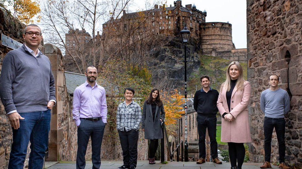 Staff based at UserTesting HQ in Edinburgh