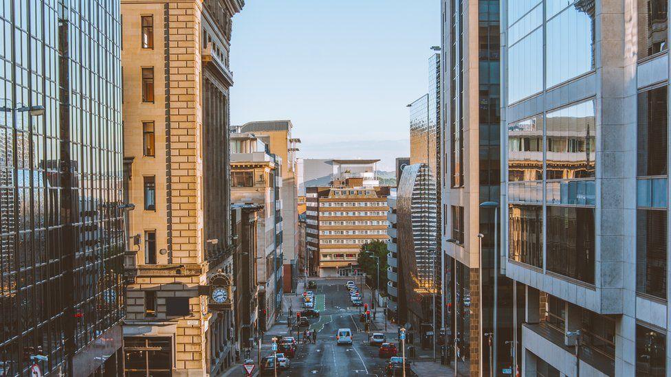 Glasgow office buildings