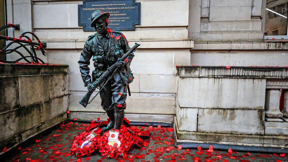 Статуя Неизвестного солдата в Ливерпуле