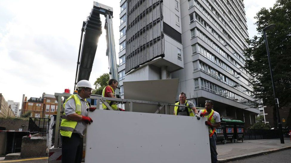 Cladding removal