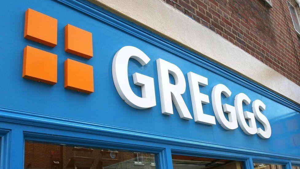 Arwydd Greggs