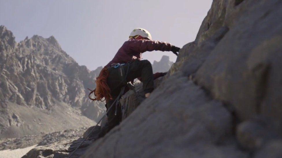 Afghan climber