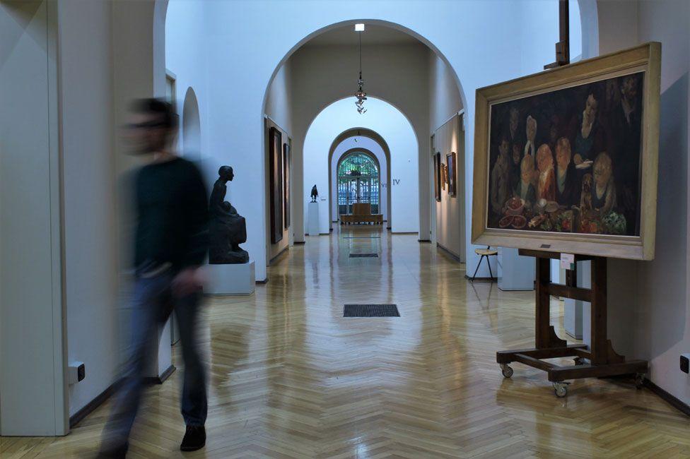 The Ricci-Oddi gallery