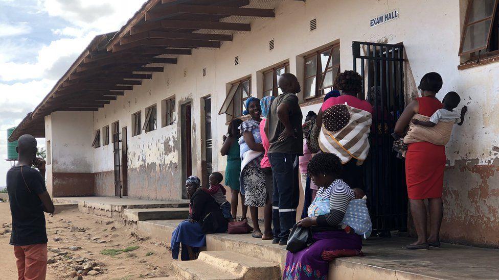 Community members in Limpopo