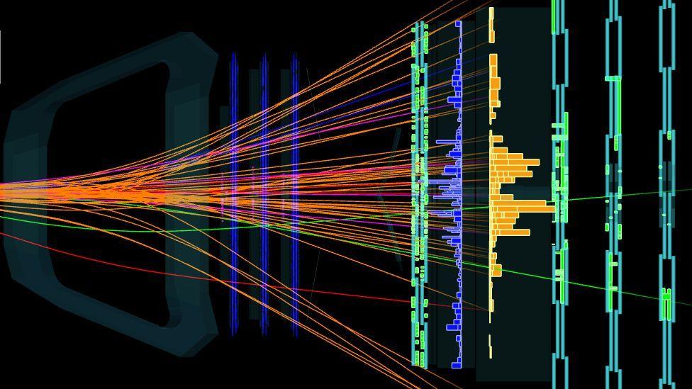 """Cómo es """"Xi-cc++"""", la nueva partícula descubierta por el Gran Colisionador de Hadrones que mantiene unida a la materia"""