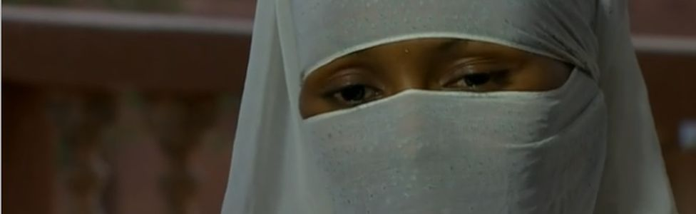 A Nigerien girl Aysha (not her real name) was married at 13