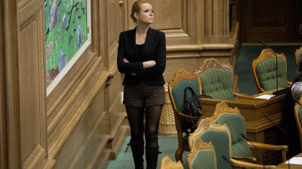 Integration Minister Inger Stoejberg. 26 Jan 2016