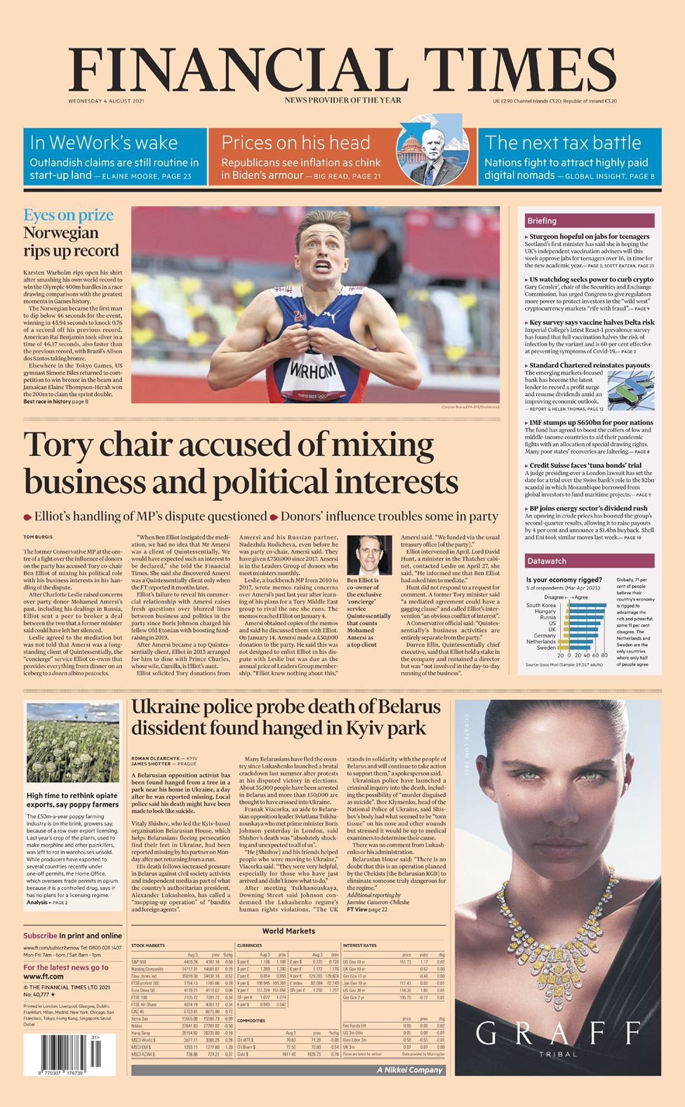 Financial Times - 04/08/21