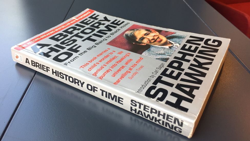 Stephen Hawking: The book that made him a star - BBC News