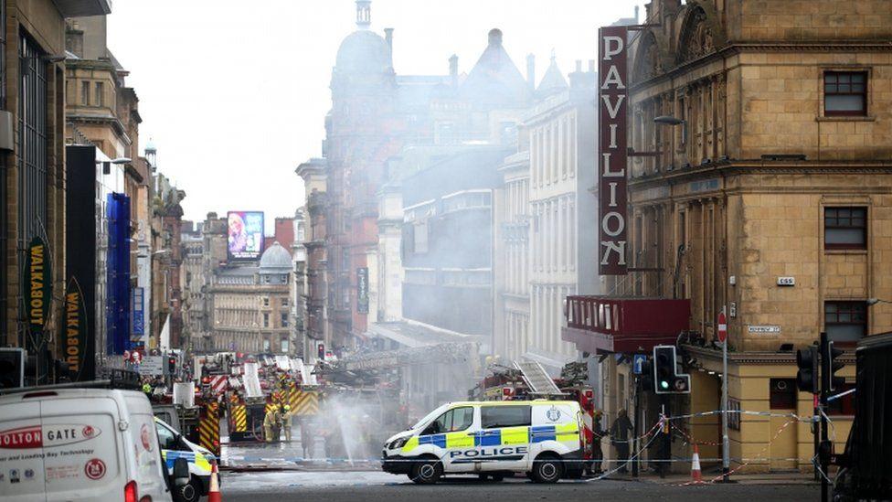 Sauchiehall Street fire