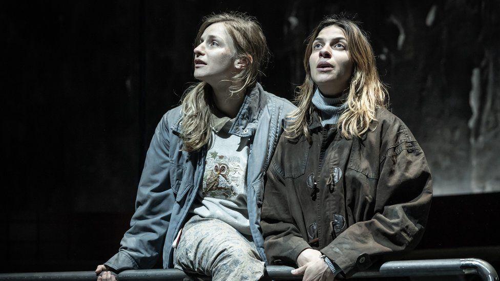 Faye Marsay and Natalia Tena in Europe