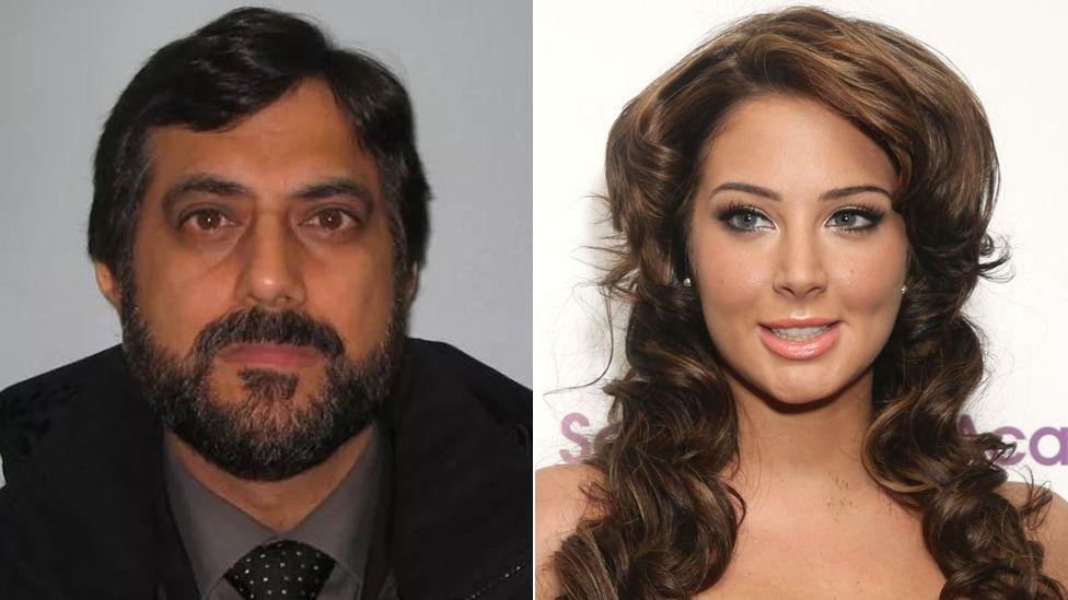 Mazher Mahmood and Tulisa Contostavlos