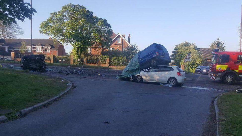 Farningham crash