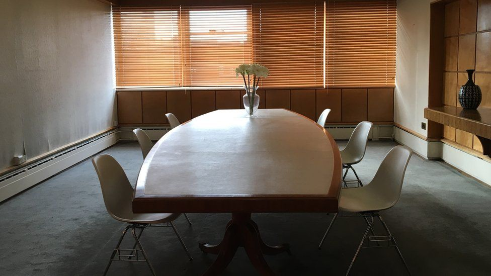 Boardroom at the Coventry Telegraph