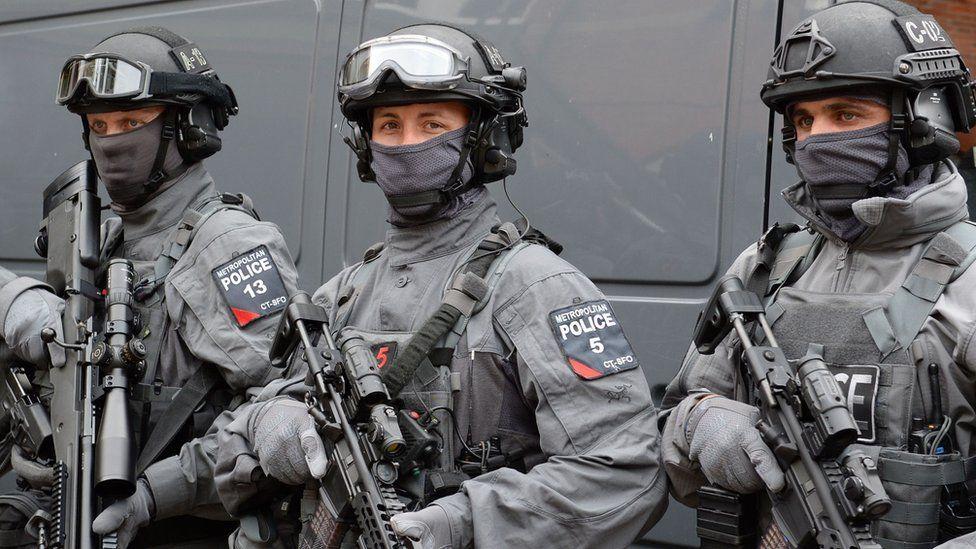 counter-terrorist police marksmen