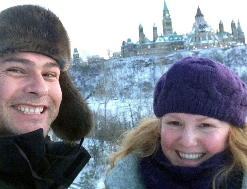 Jesse and Lucie, Parliament Hill, Ottawa, 2013