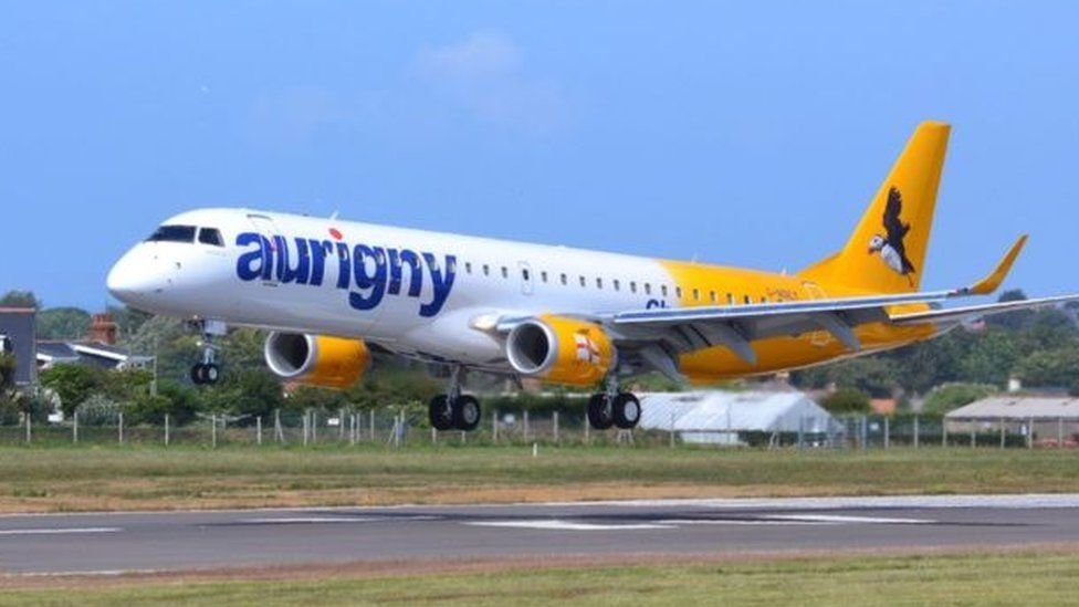 Guernsey Aurigny airline losses 'to exceed £9m in 2020'