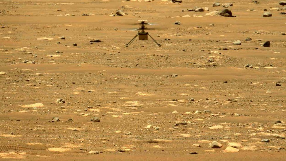 Mars Ingenuity helicopter mission extended by Nasa thumbnail