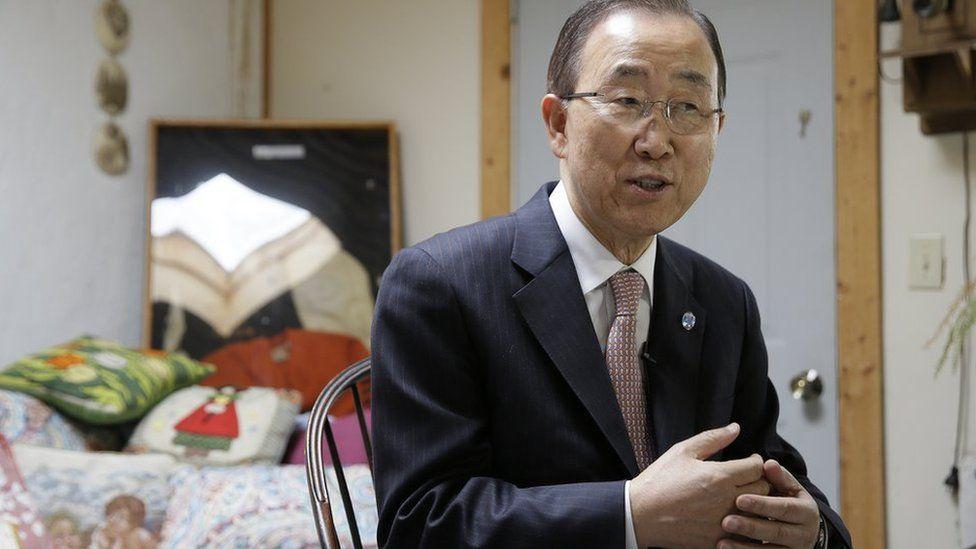 Ban Ki-Moon in an interview, August 2016