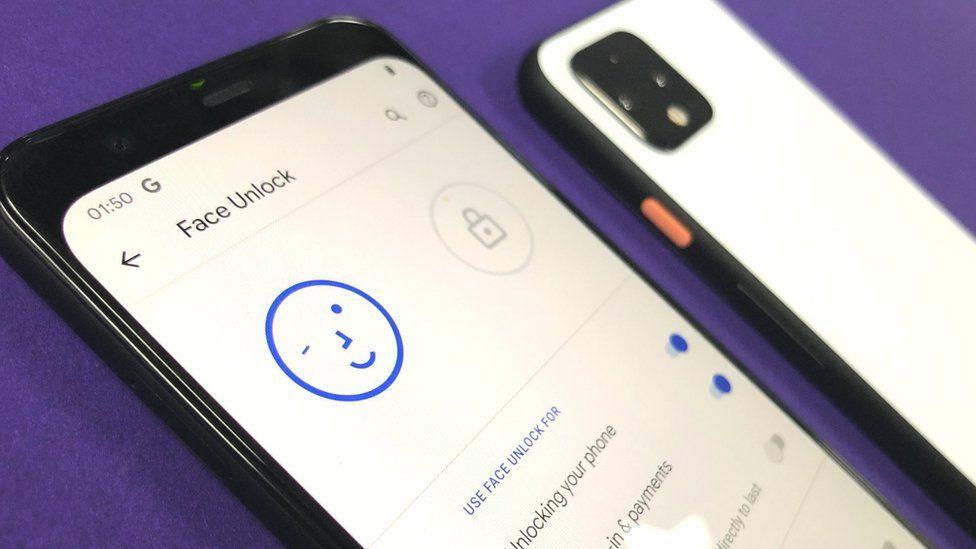 Google Pixel 4 phone