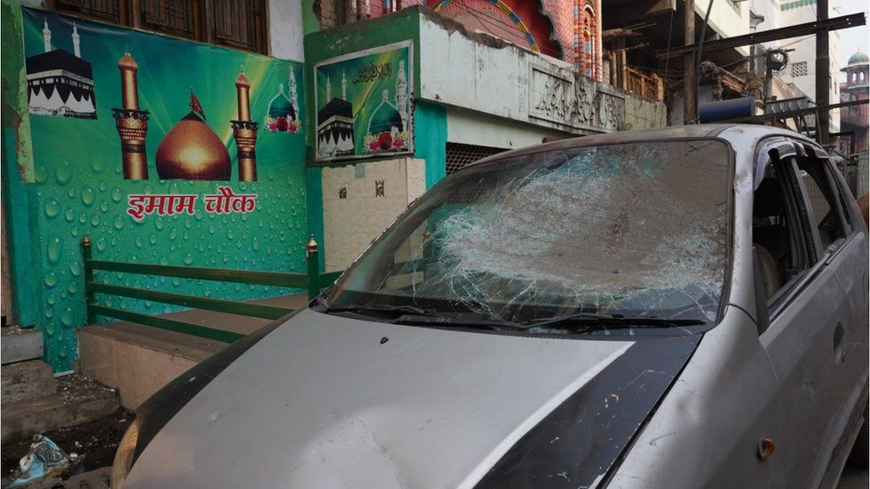 Locals in Kanpur say police vandalised cars