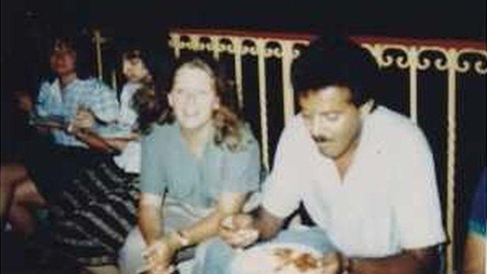 Leila's parents in Ramallah