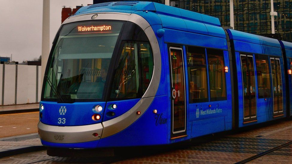 Tram in Birmingham