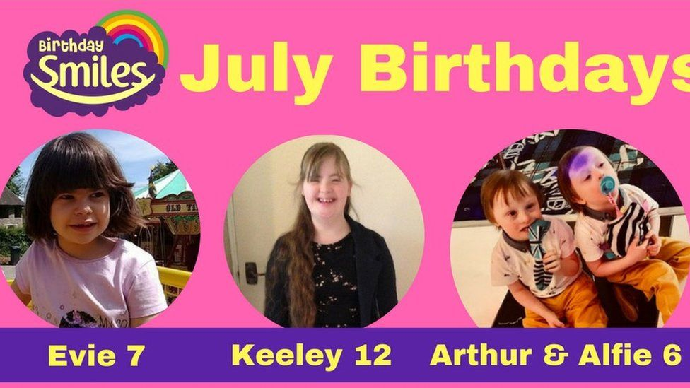 Birthday Smiles card