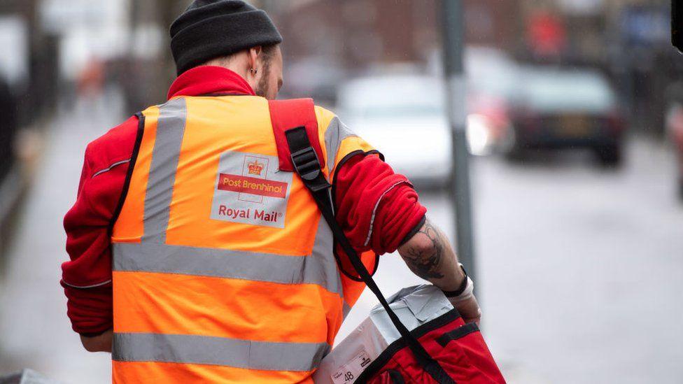Postal worker in Wales