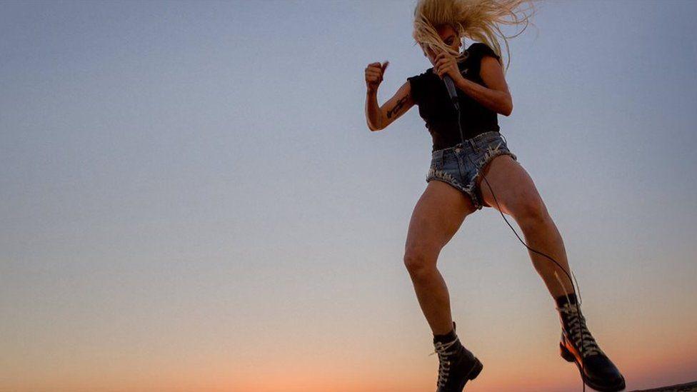 Lady Gaga Perfect Illusion artwork