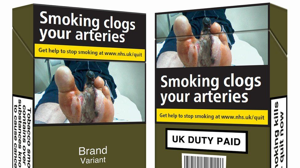 New standardised packaging for cigarettes and tobacco