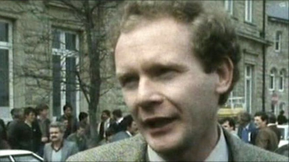 Martin McGuinness says he made the transition to politics in the mid-1970s