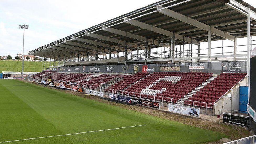 East Stand, Sixfields Stadium, Northampton