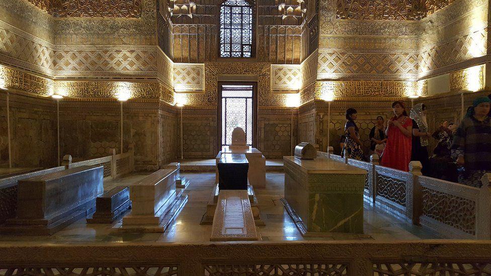 La 'Tumba de Tamerlane', en Samarkand.