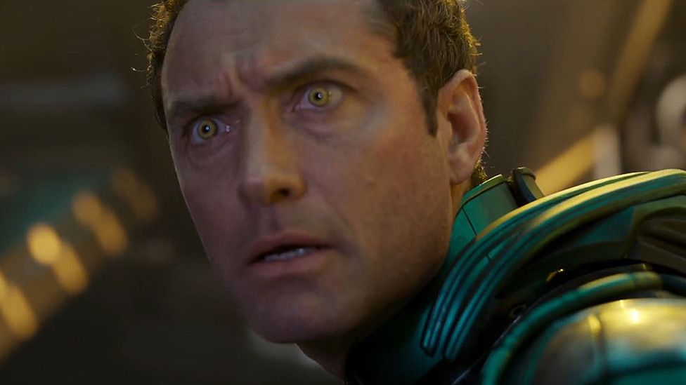 Jude Law playing Mar-Vell