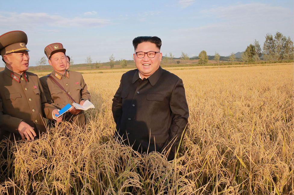 The real Kim Jong-un in September 2017