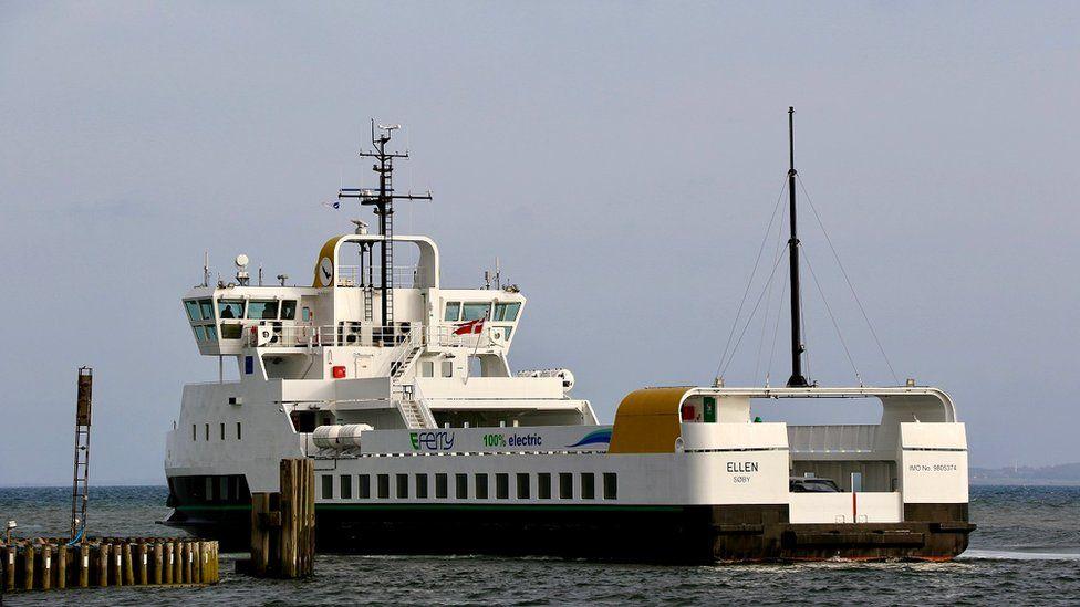 Ellen, the electric ferry