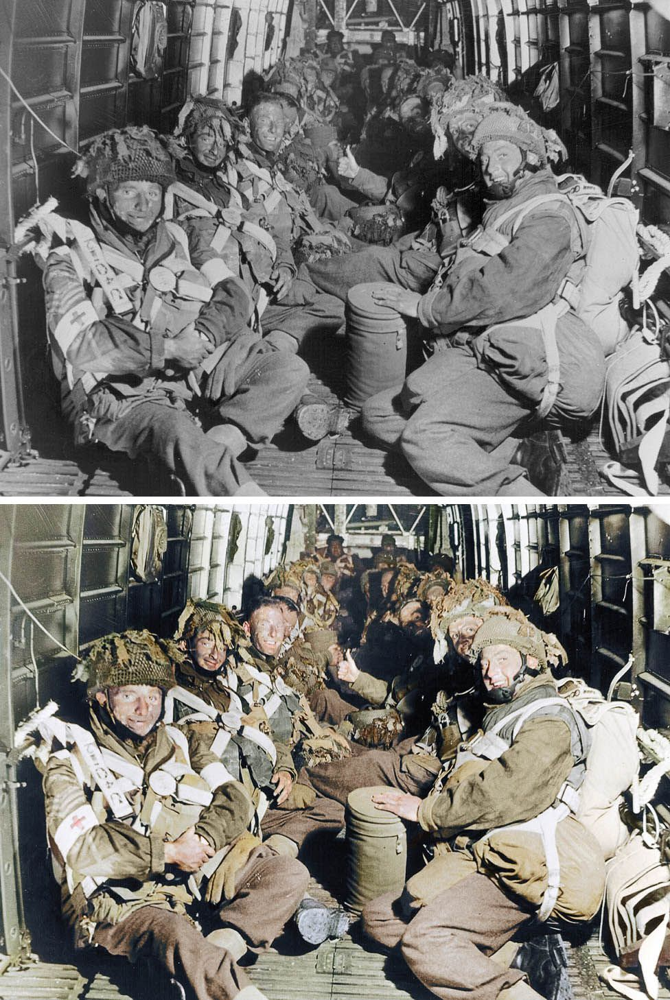 British paratroops of the 6th Airborne Division