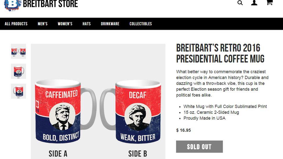 Breitbart coffee mugs