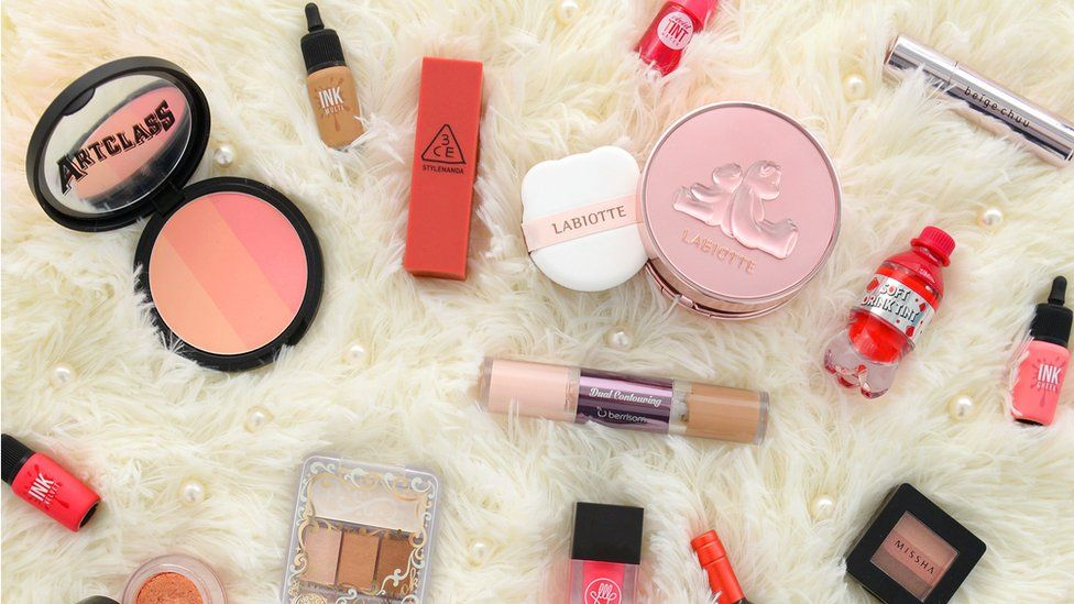 Some of YesStyle's Korean make-up products