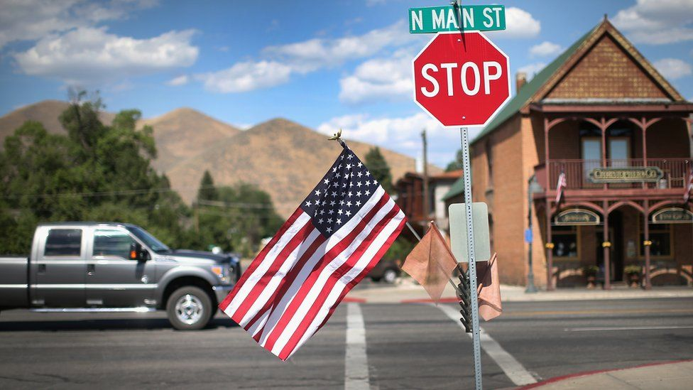 """Idaho, el estado que se convirtió en una """"utopía blanca"""" para los conservadores que huyen del oeste liberal de Estados Unidos"""