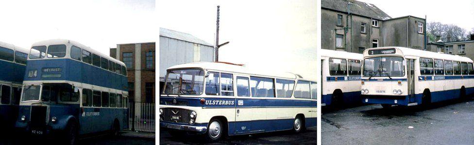 Ulsterbus 1960s, 1970s, 1980s