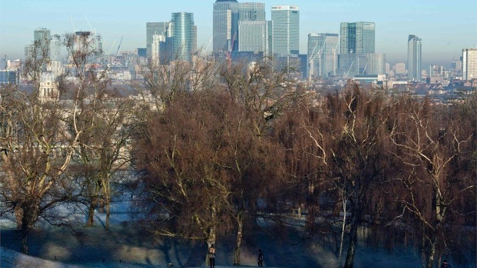Canary Wharf in Tower Hamlets, London