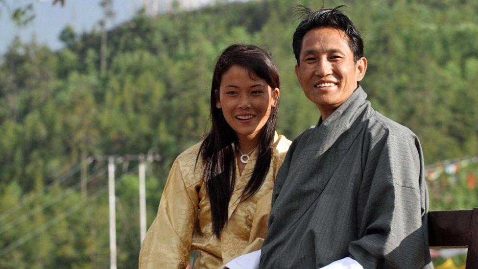 Wangda Dorje and Tshering Choden