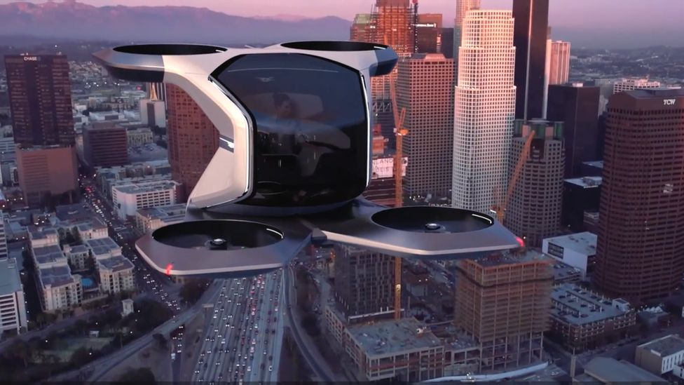 Cadillac-branded Vertical Take-off and Landing Concept