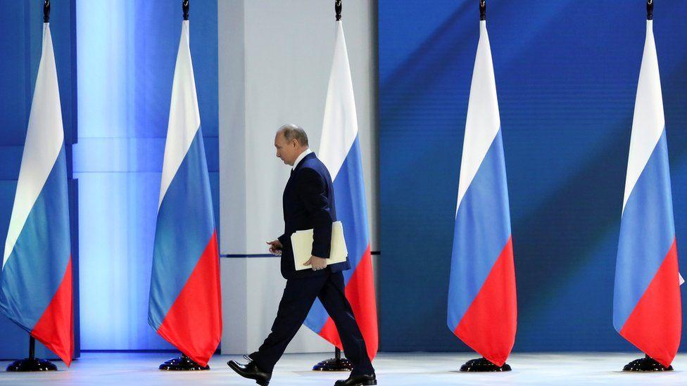 Russian President Vladimir Putin, Moscow, 21 April