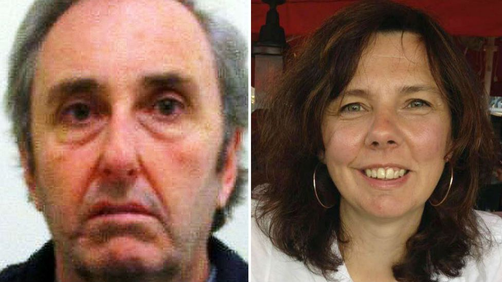 Ian Stewart and Helen Bailey